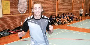Badmintonstævne på Brøruphus