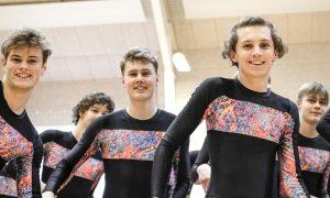Gymnastik til Nye Elevers Dag