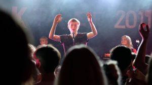 Koncert på spillestedet Radar i Aarhus